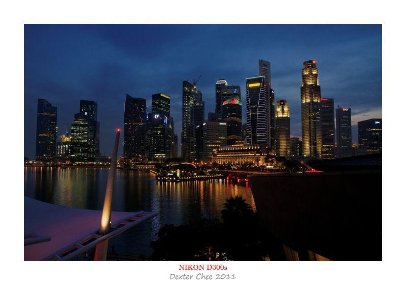 ~Singapore #8 - Marina Bay - CBD View~