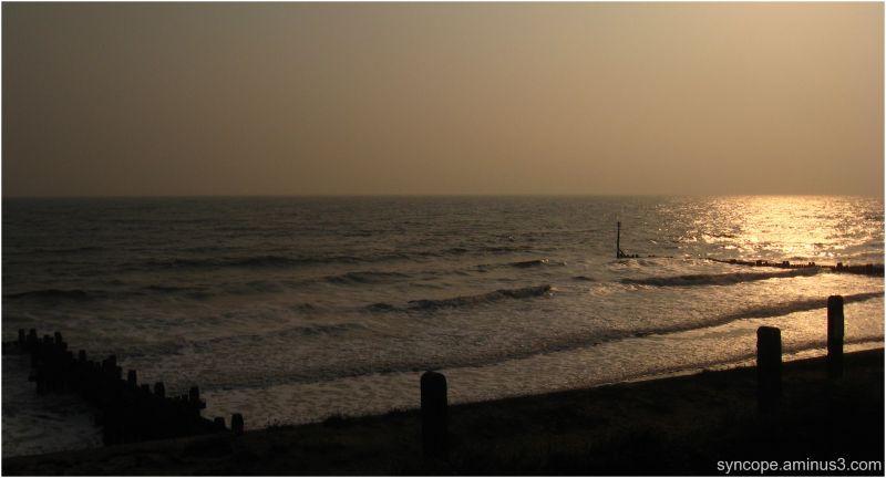 bacton sunrise