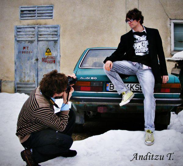 Model or photographer?!