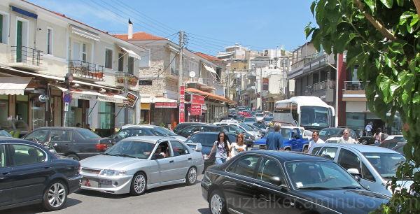 A Greek Traffic Jam