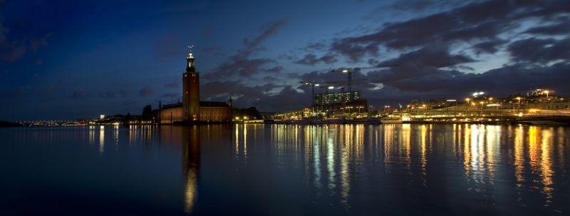 stockholm panoramic view