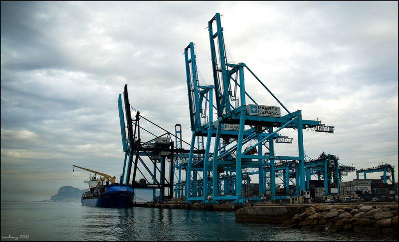 Algeciras harbor