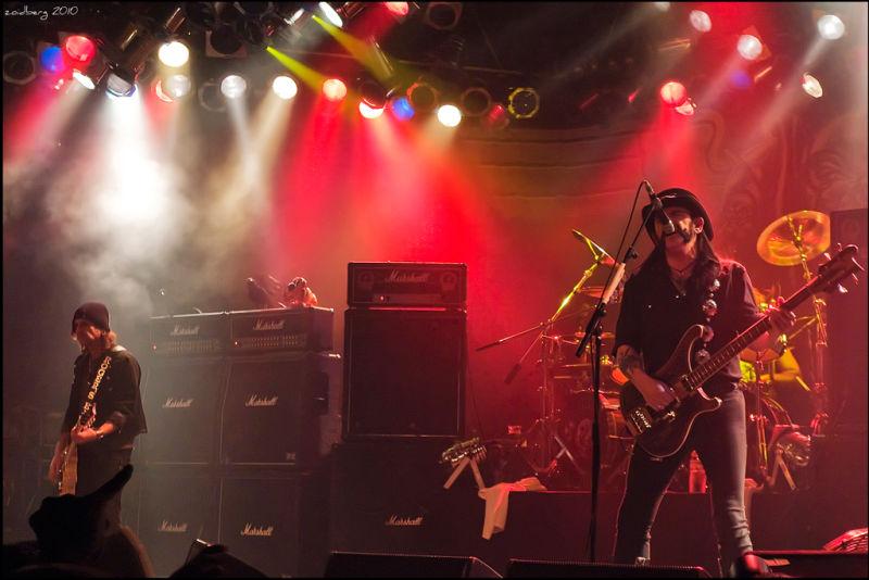 Motörhead, Madrid 19/12/2010