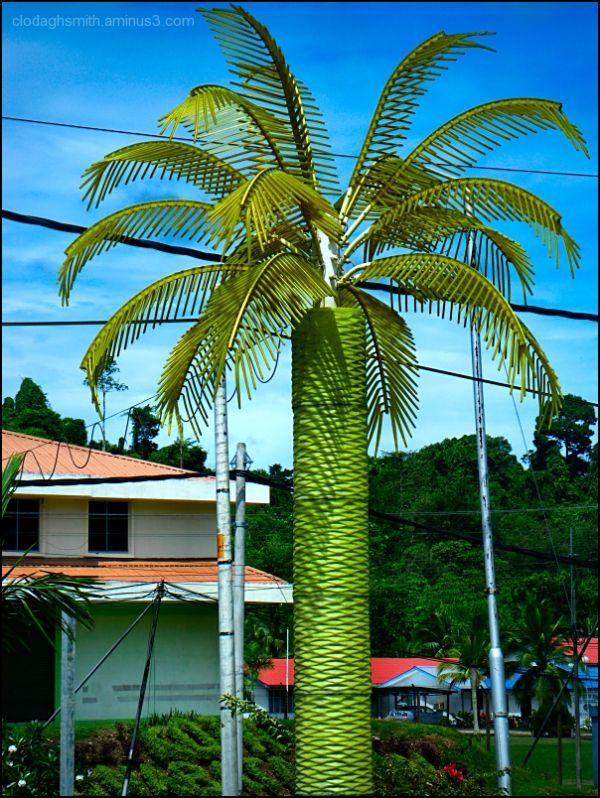 totally faux palm