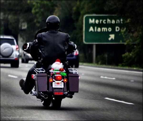 santa on the move