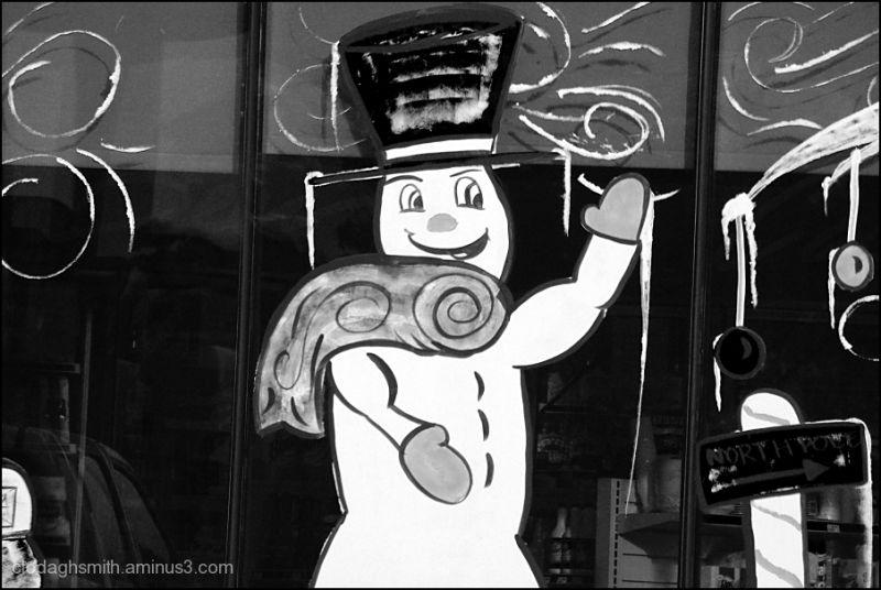 dorky snowman