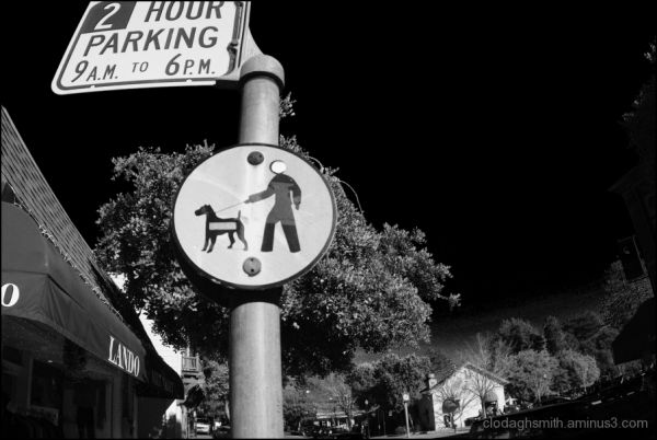 infrared urban city signs