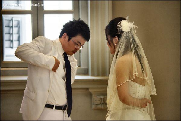 wedding couple Singapore