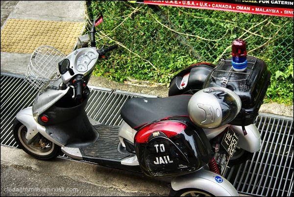 Singapore motorbike
