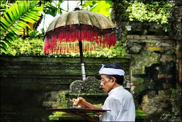 the palace in Ubud Bali