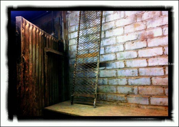 bricks and mesh
