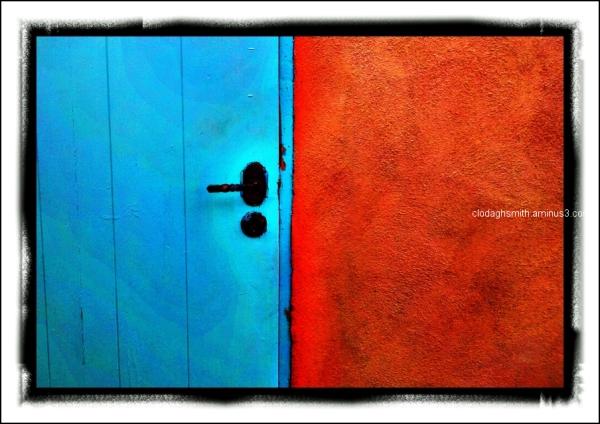 blue door new mexico