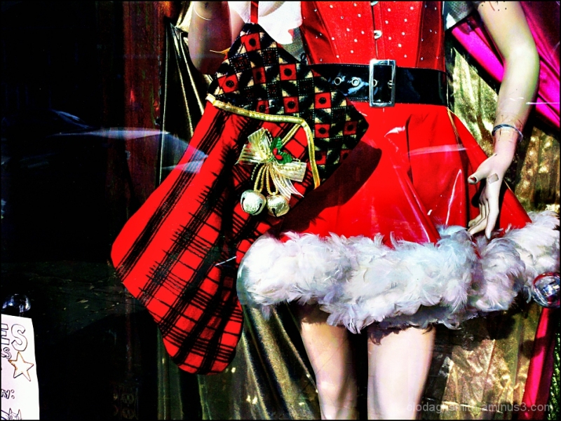 little santa dress