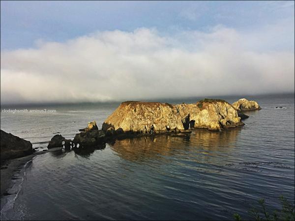 Elk, Mendocino coast cove