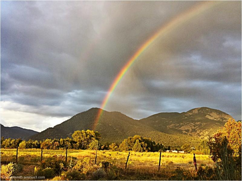 rainbow and El Salto