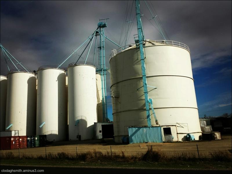 rice silos