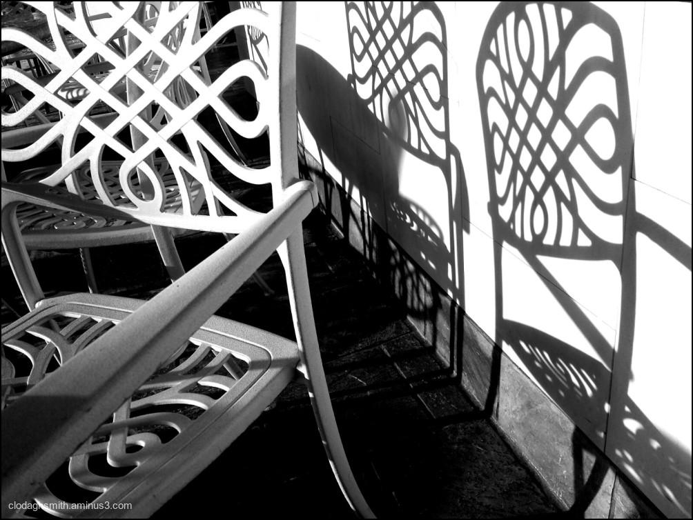chair shadows & light