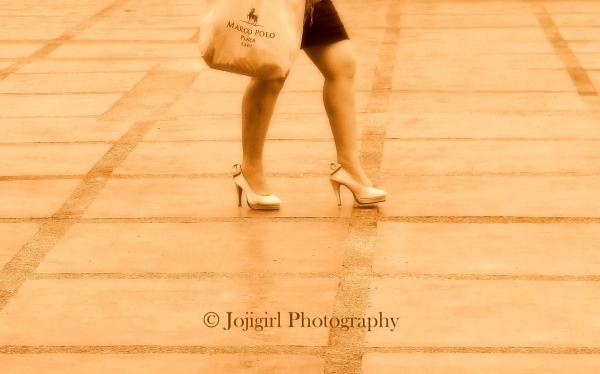 walk, shoes, girl, legs, shopping