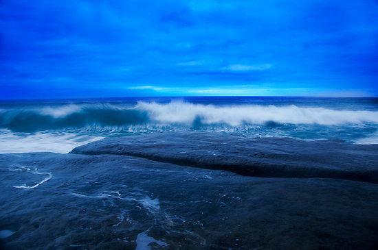 Neptune Beach in Windansea, CA