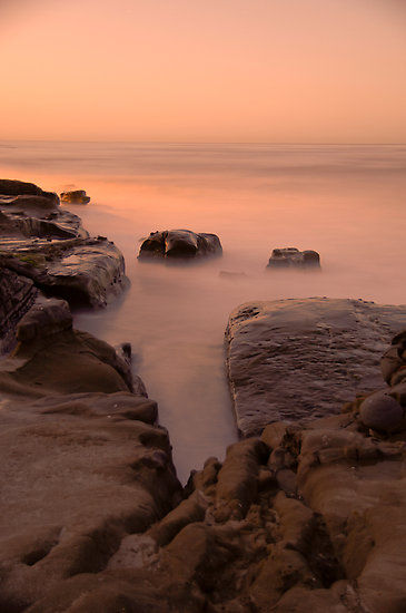 Windansea, CA Long Exposure