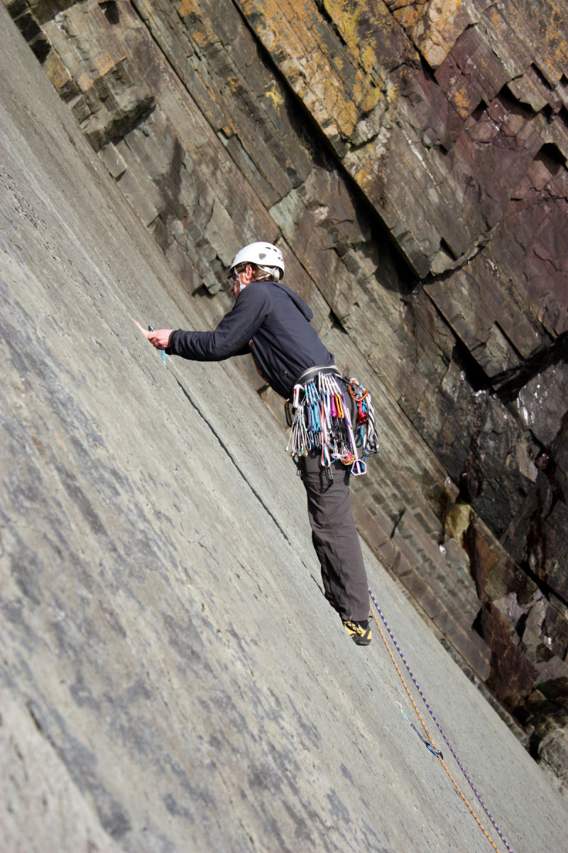 Rock Climbing in Pembrokeshire