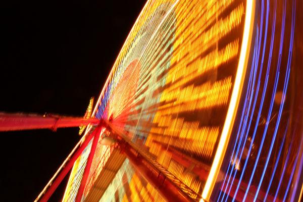 Ferris Wheel, Princes Street Gardens, Edinburgh