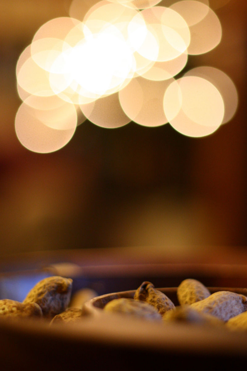 Monkey Nuts and Bokeh