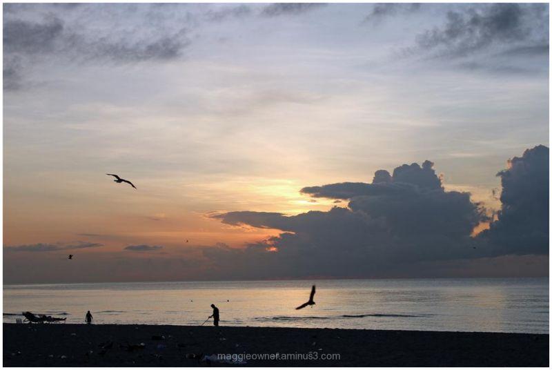 Sunrise on South Beach