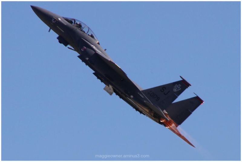 High speed climb with afterburners
