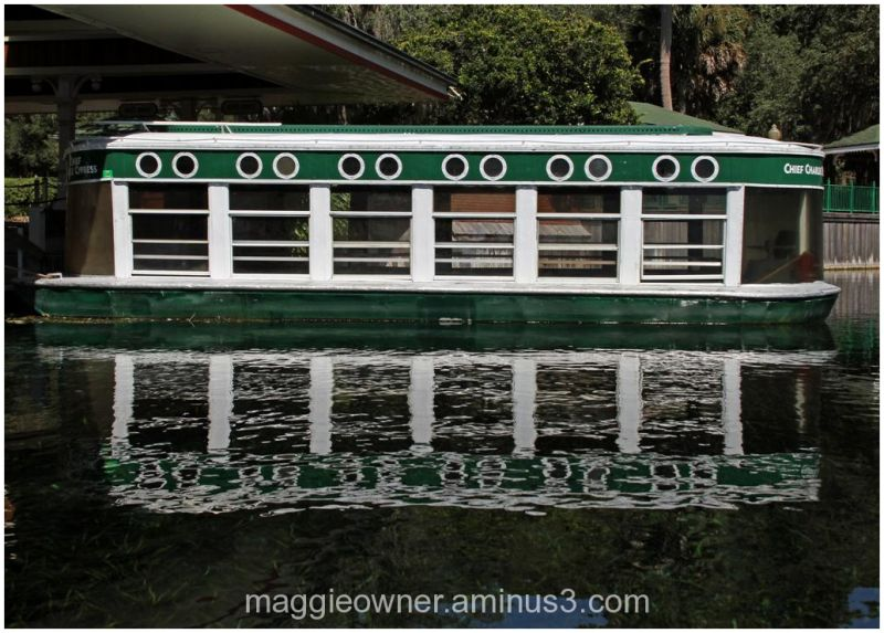 River boat...