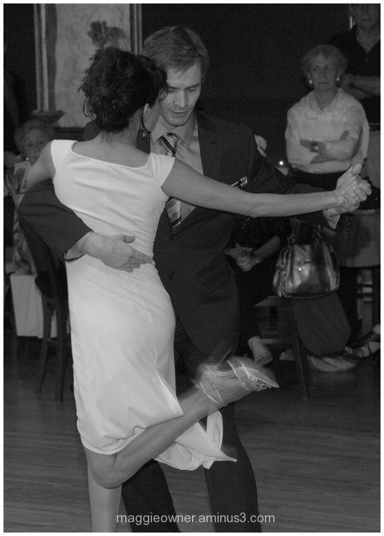 Argentine tango - B&W