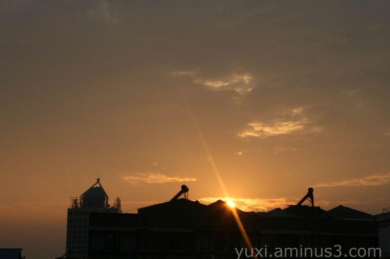 The orange sky ~
