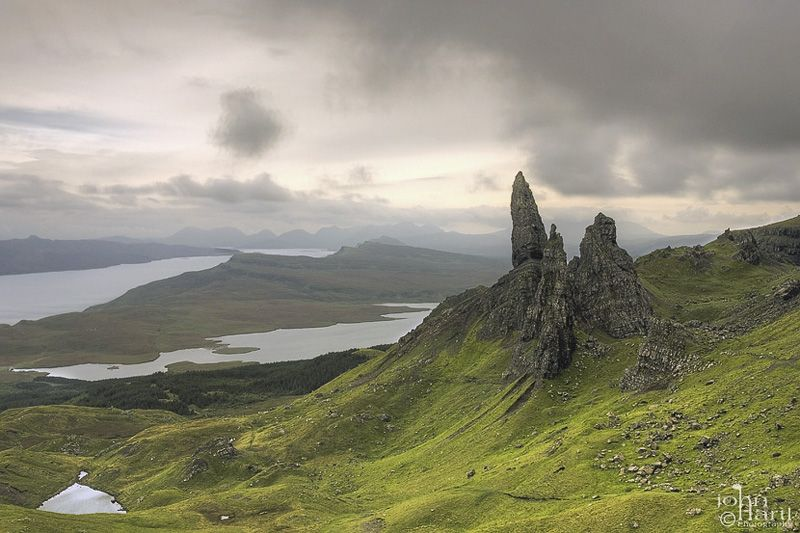 the old man of Storr , Isle of Skye