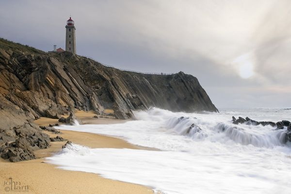 the silvercoast in Portugal