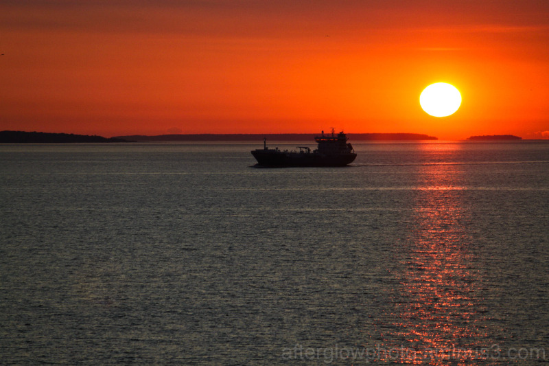 Sunset on the Baltic