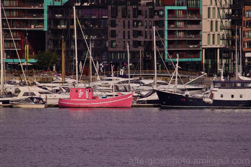 Little Pink Boat...