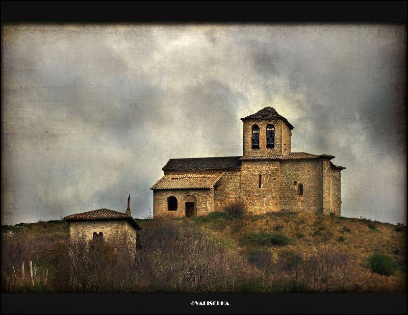 La ermita en el cerro