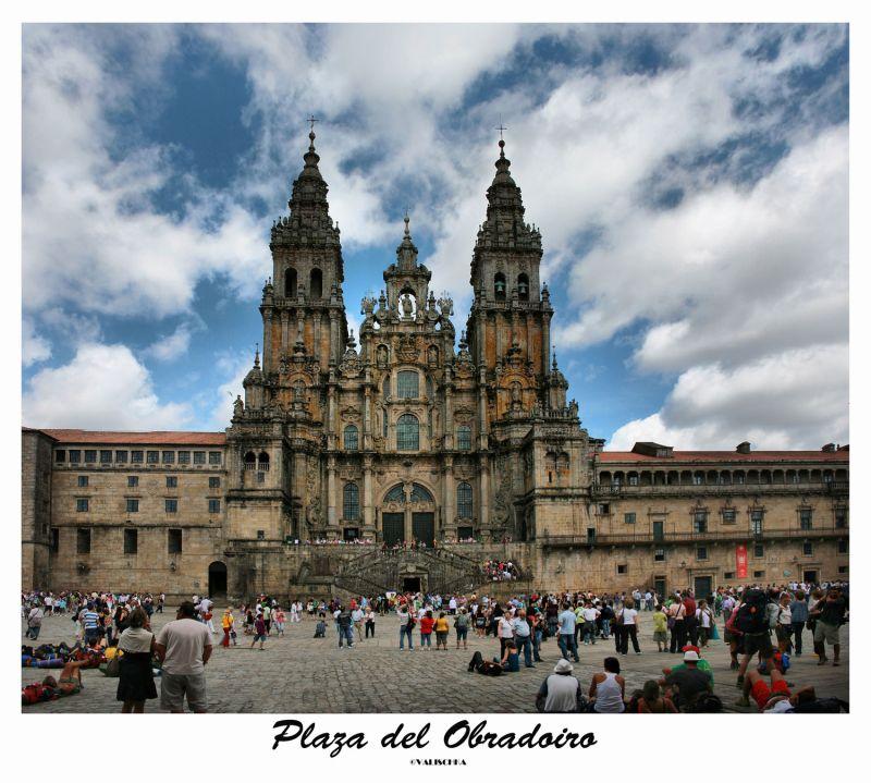 Plaza del Obradoiro-Santiago de Compostela