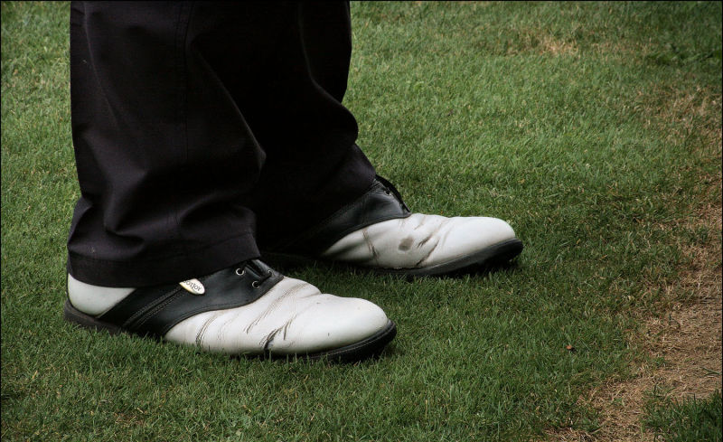 Shoes of golf