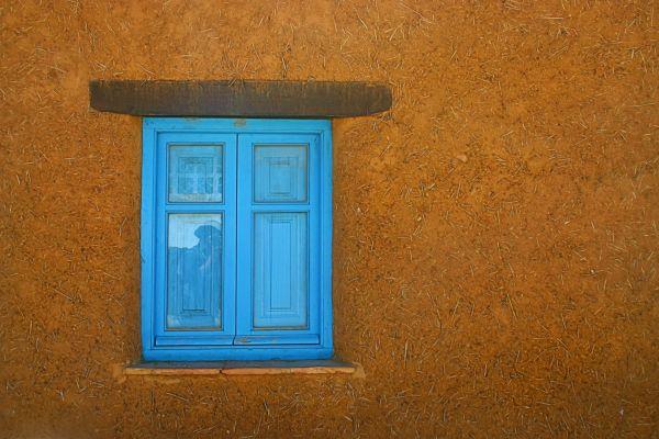 La ventana azul