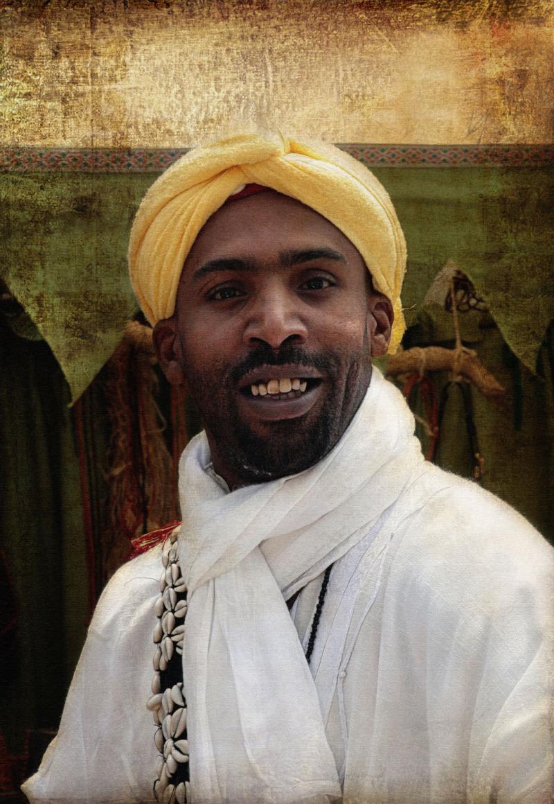 El músico Chaâbi