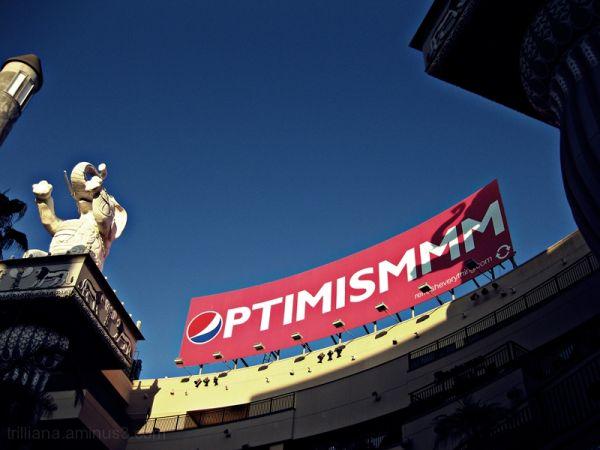 optimismmm. you'll need it!