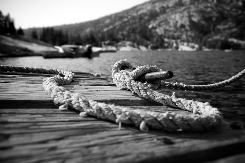 tie the rope