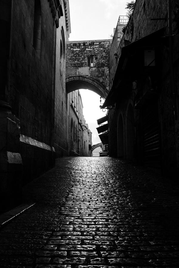 old city of jerusalem shortly after sunrise #1