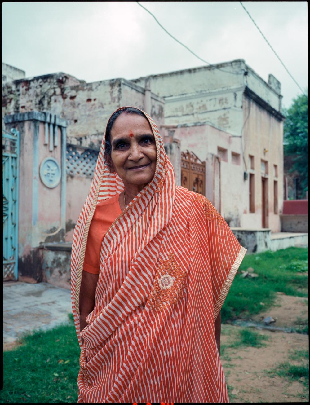 woman in churij ajitgarh, rajasthan, india