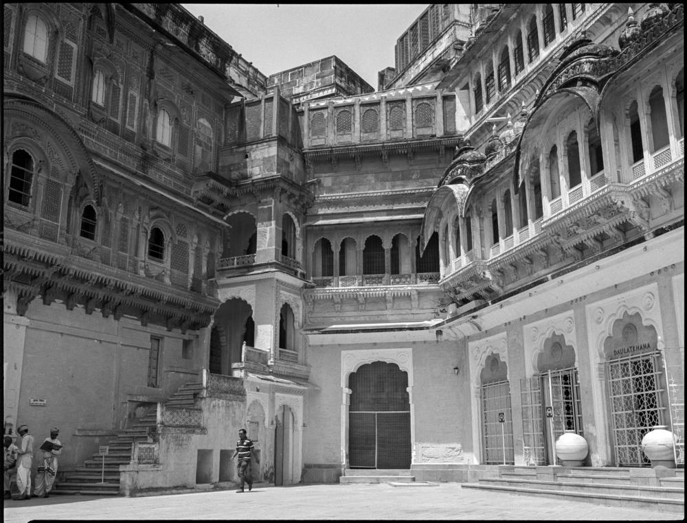 mehranghar fort, jodhpur, rajasthan, india