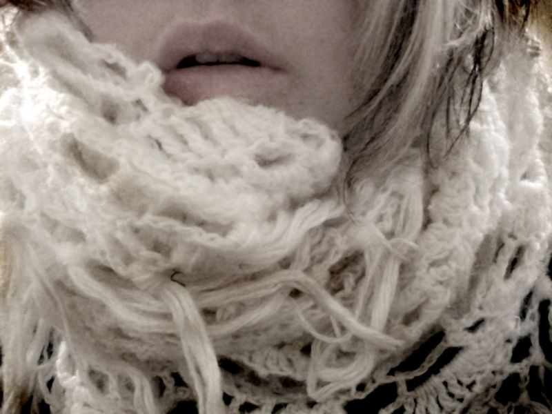 Day 101 - Long day, big scarf