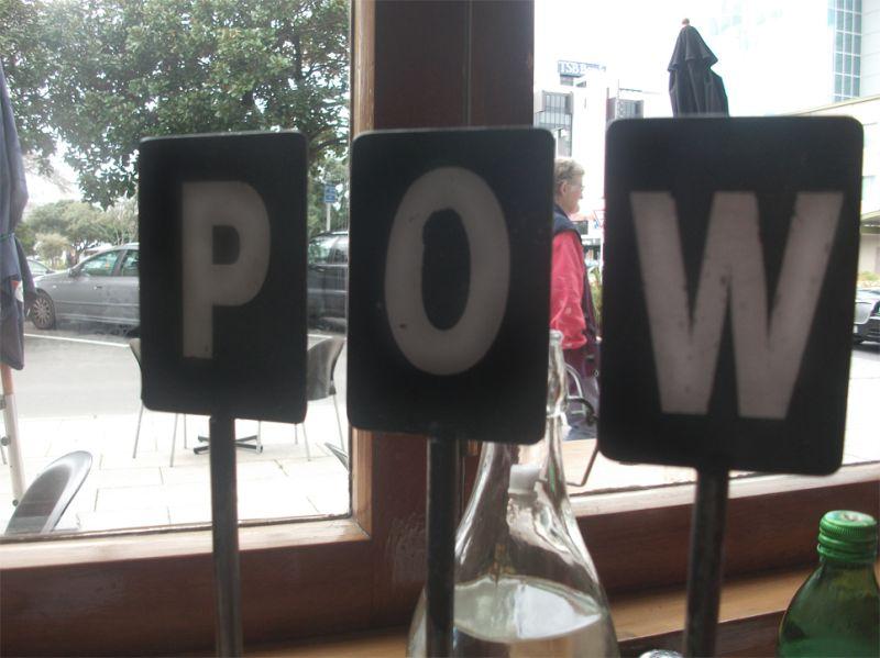Day 196 - Pow pow