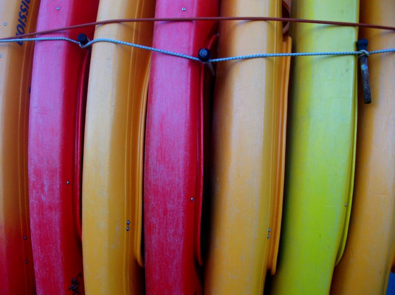 Day 206 - Candy Kayaks