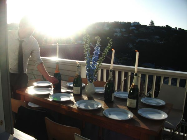 Day 319 - Dinner on the Deck
